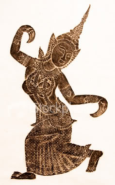 Thai Dancing Figure